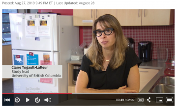Claire Tugault-Lafleur talks to CBC about how things are changing in school cafeterias